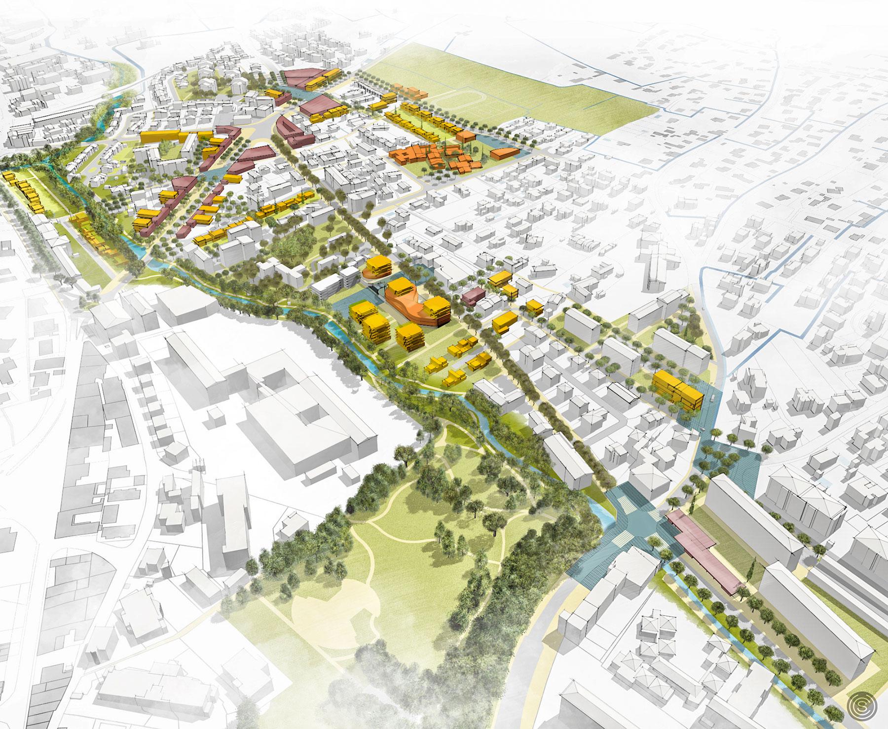 SAFRAN Manosque urbanisme rénovation urbaine